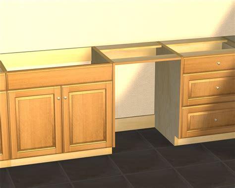 cabinet opening for dishwasher standard base appliance