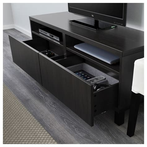 besta drawers best 197 tv bench with drawers lappviken black brown
