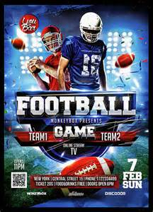 free football flyer templates spectacular football flyer template 14