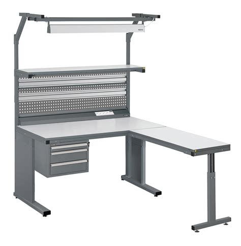 industrial work bench image gallery esd workbenches