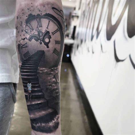 staircase tattoo clockwork stairs best ideas gallery