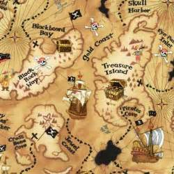 Pirate Duvet Covers Pirate Map Fabric
