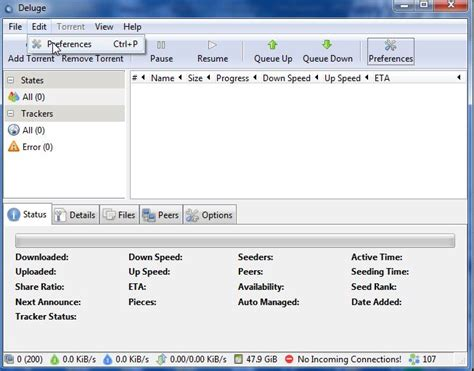 deluge android fastest torrent client mac