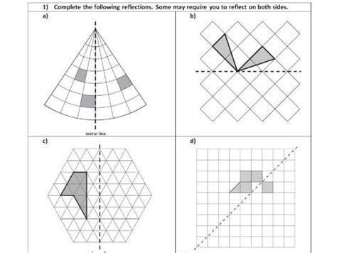 shape pattern activities ks2 common worksheets 187 pattern symmetry worksheets ks2