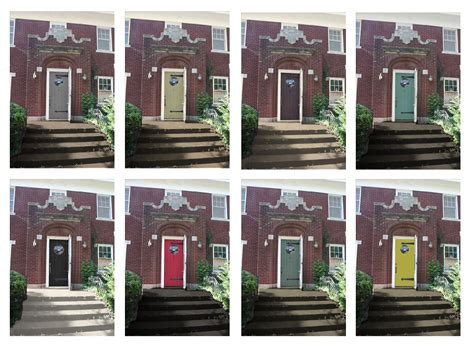 Front Door Colors For Brick Houses | sixtwelvesixteenth shut the front door