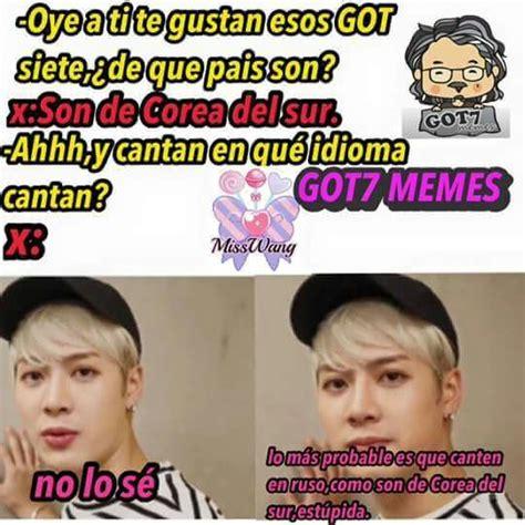imagenes de kpop memes en español memes got7 espa 241 ol amino