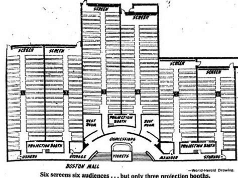 movie theater floor plan six west movie theater blueprint inside westroads mall