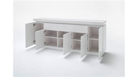 kommode 200 x 100 sideboard wei 223 hochglanz inkl rgb beleuchtung 200 cm