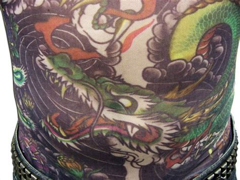 full upper body tattoo cost men s geisha dragon full body tattoo shirt apparel in