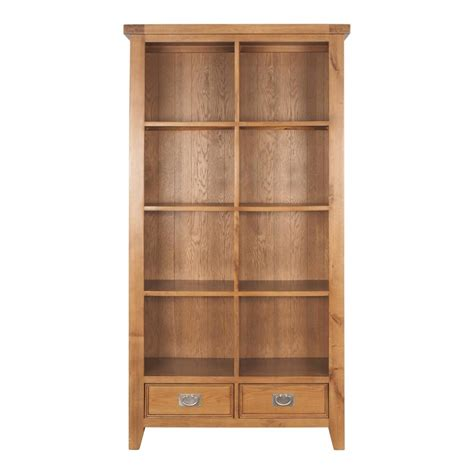oak hill large bookcase bookcases shelving home