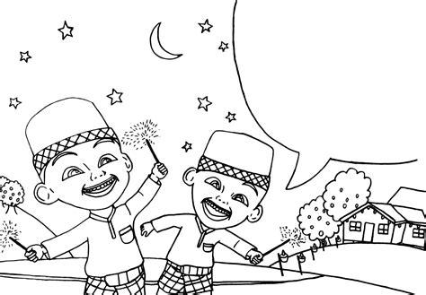 Buku Mewarnai Buku Kreatifitas Anak 4 In One gambar mewarnai upin ipin untuk anak paud dan tk aneka