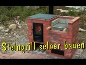 kamin selbst mauern grill selber bauen aus stein steingrill kamin aus