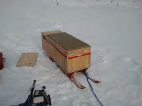 Ice fishing sled ice fishing sled ideas ice fishing smitty sled plans