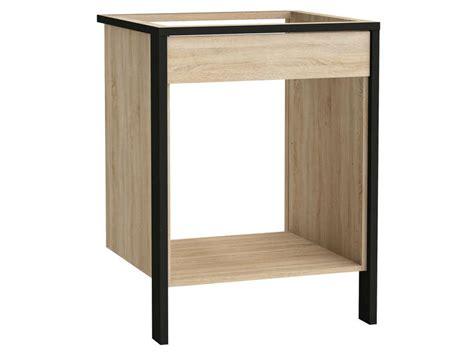 meuble cuisine plaque et four meuble bas four plaque l 64 cm fabrik f5 vente de meuble