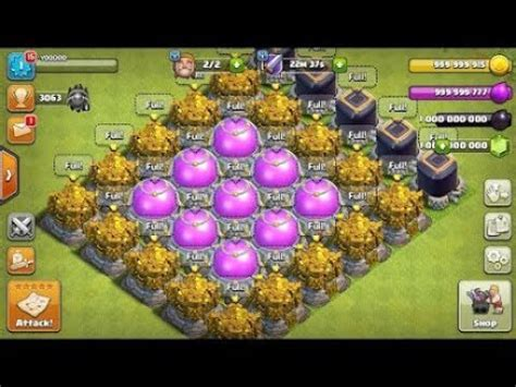 game coc mod 100 work coc mod apk unlimited gems elixir coins 100 working youtube