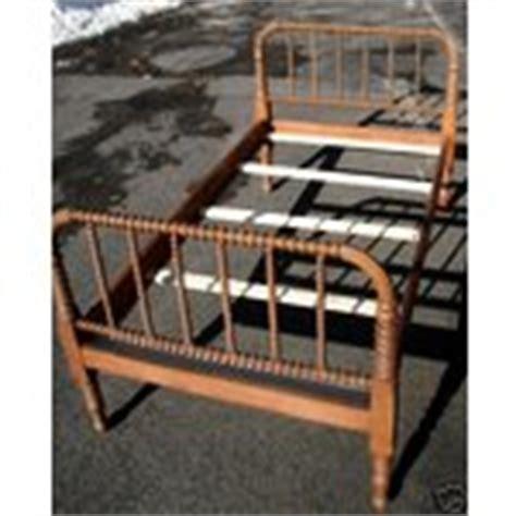 jenny lynn bed antique jenny lynn bed frame solid maple oak siderails 02
