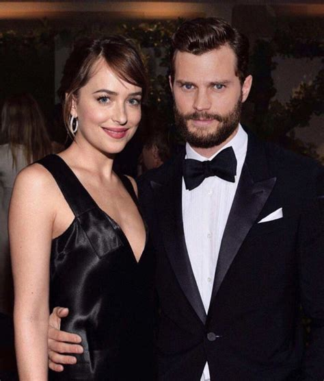 fifty shades of grey actors together 27 hottest images of dakota johnson and jamie dornan together