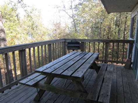 cabin porch and grill picture of cooper lake state park
