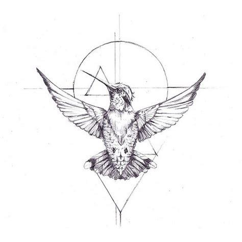 geometric hummingbird tattoo geometric hummingbird temporary tattoo inyourdreams