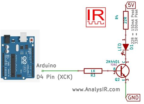 arduino ir diode circuit backdoor upwm hack on arduino for infrared signals using uart