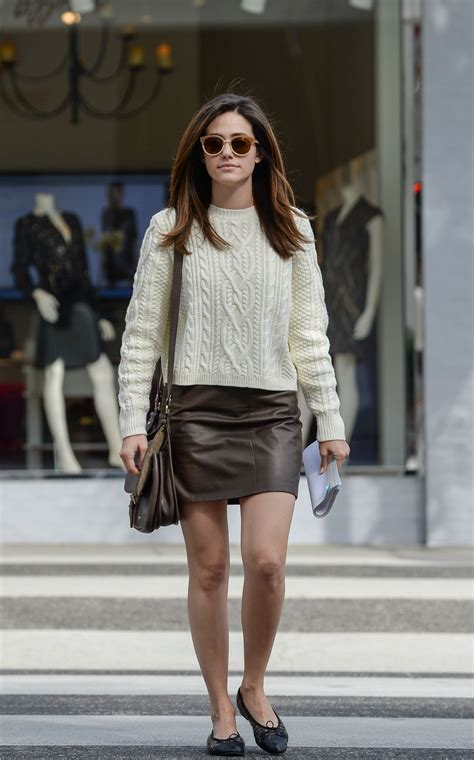 emmy rossum casual style   brentwood november