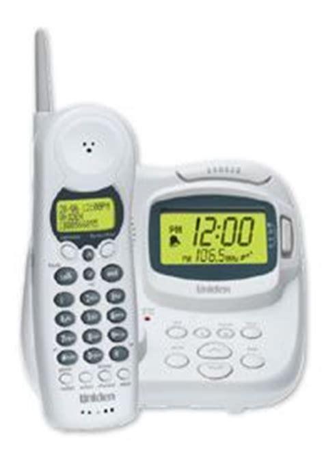 uniden australia cordless phone   clock radio