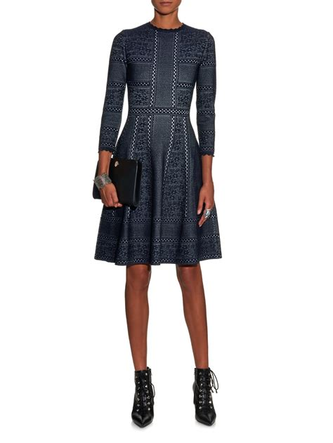mcqueen style lace skirt dress in