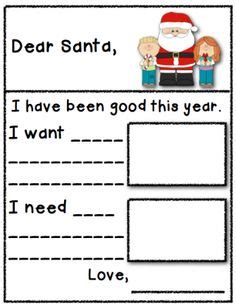 letter to santa template want need santa letter needs and wants from kindergarten boom boom