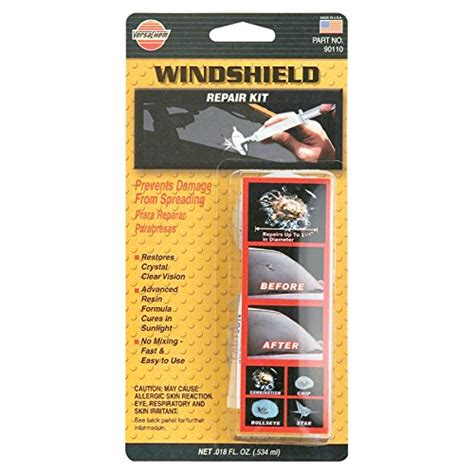 windshield repair kit versachem 90110 windshield repair kit 0 18 fl oz 0085117901105 buy new and used