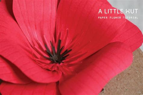 How To Make Paper Poppy Flowers - diy joli coquelicot de papier flower peony flower and