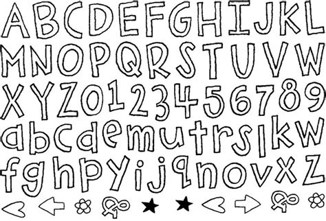 mixed pattern font from my mixed up files fun fonts for the classroom