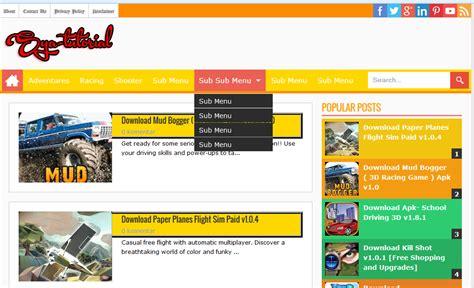 blogger tutorial full download sang seo responsive blogger template full colour