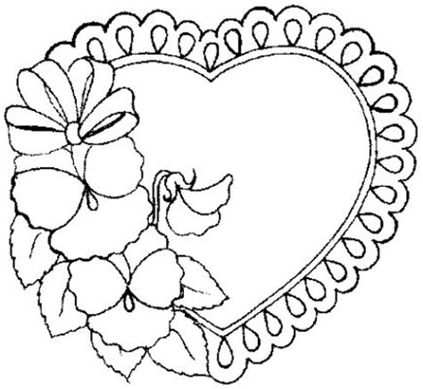 coloring page of a valentine heart valentines day coloring pages june 2010