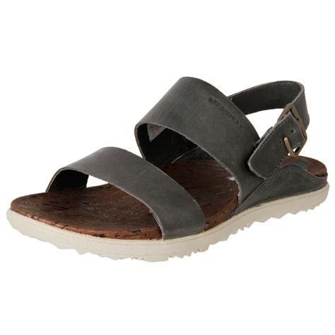 new merrell s leather cork slingback walking sandals