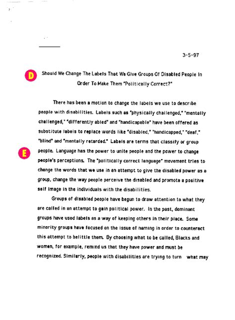 Argumentative Essay Exle Middle School sle essay topics for high school students top essay topics for high school essays