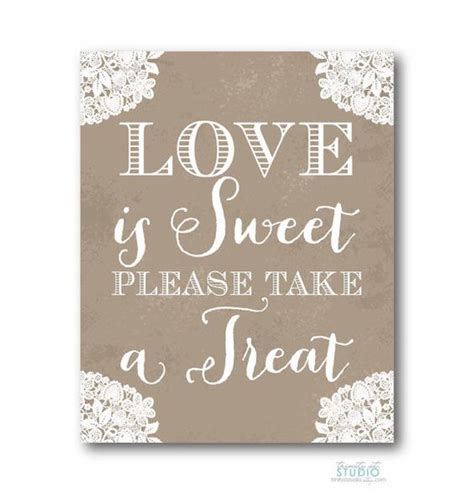 is sweet sign 8x10 vintage lace rustic for a wedding