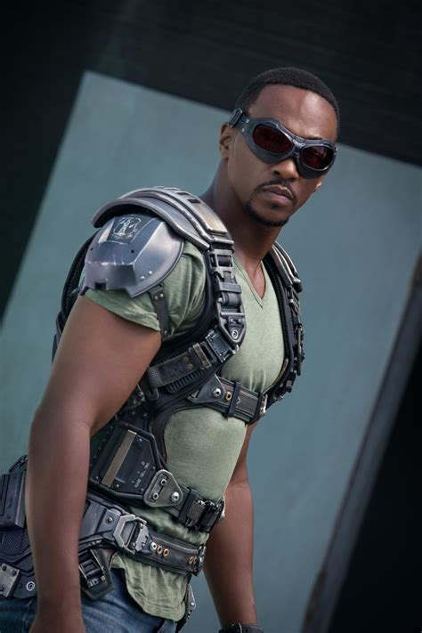 Army Sam Wilsons Captain America Print T Shirt anthony mackie soars as captain america s falcon kuow