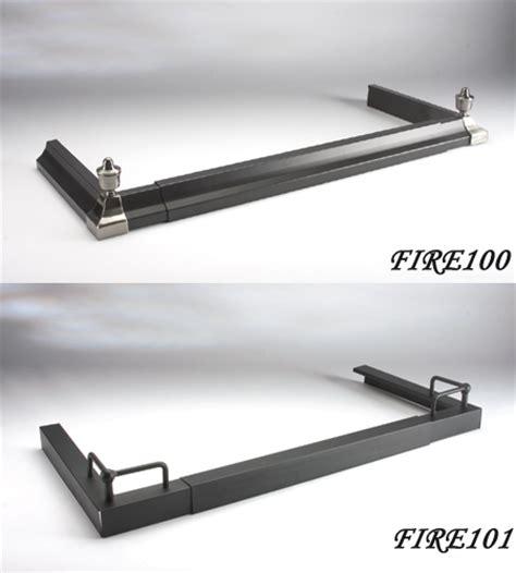 adjustable fireside fender guard new hearth fireplace end