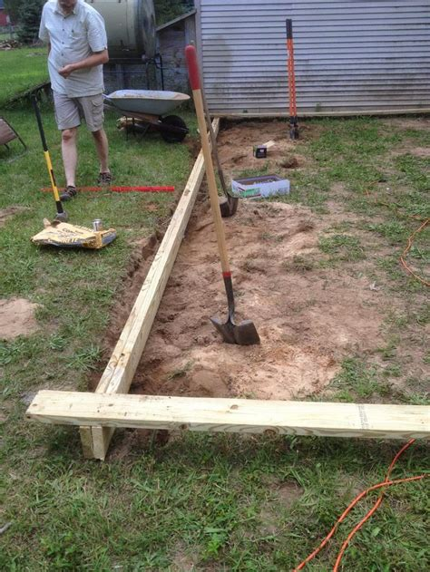 How To Level Ground For Patio by 1000 Ideas About How To Level Ground On