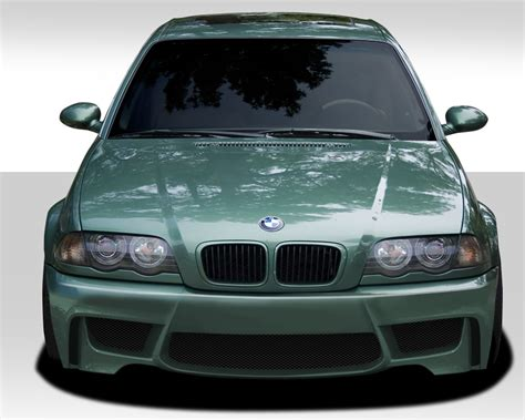 bmw 3 series front bumpers bmw 3 series e46 1m look front