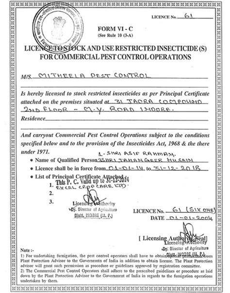 Mitheela Pest Control & fumigation Services