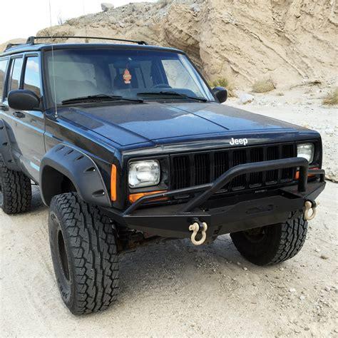 jeep bumper tuff stuff jeep xj front winch bumper tuff