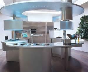 Round Kitchen Island With Seating the future rounnd kitchens modern interior idea pinterest