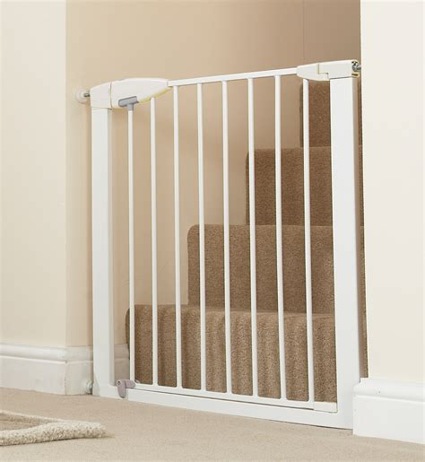 Baby Gate easy metal gate baby safety zone powered by jpma