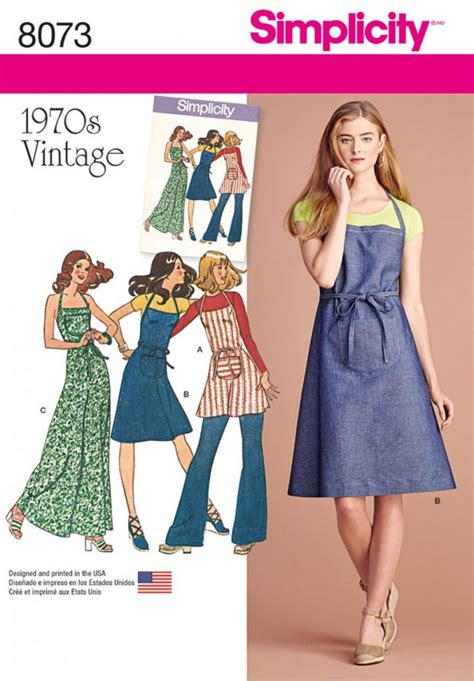 pattern dress online discontinued simplicity sewing pattern 8073 p5 vintage