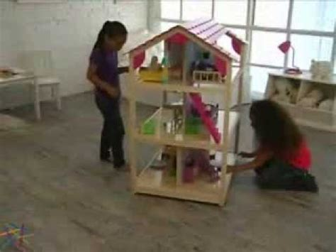 kidkraft so chic doll house kidkraft dollhouse so chic rolls on casters so its easy to move to any play area