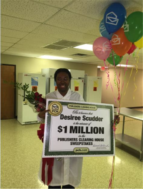 Pch Million Dollar Winners - meet desiree scudder our newest superprize winner pch blog
