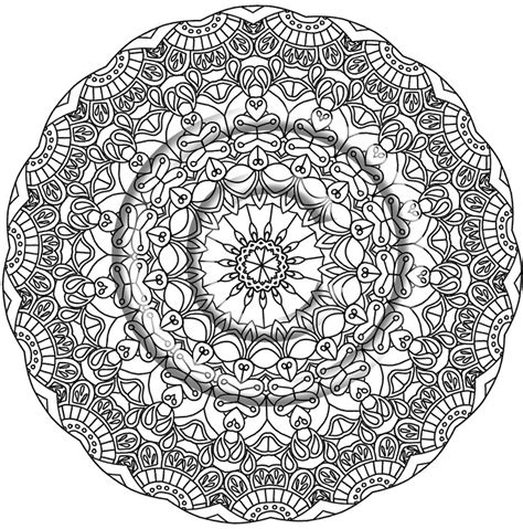 zentangle mandala coloring pages zentangle free colouring pages