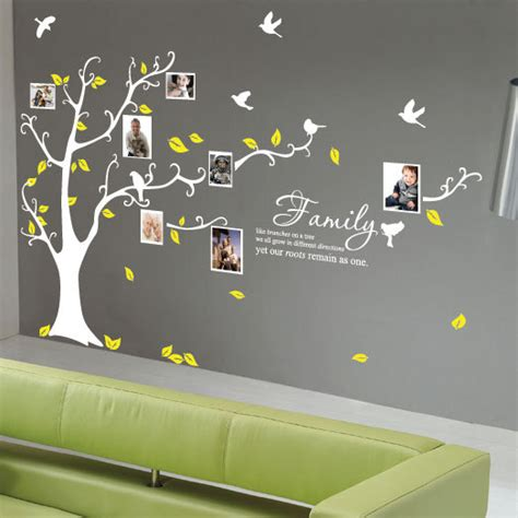 family tree stickers for walls family tree birds wall quotes wall stickers by stickerlove2