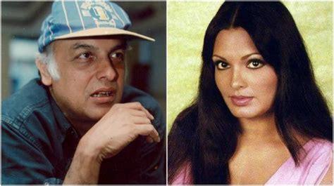 parveen babi in mahesh bhatt movie parveen babi and mahesh bhatt s heartbreaking love story